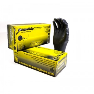 Black Mamba Disposable Nitrile Gloves With Torque Grip BX-BMGT