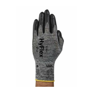 Ansell HyFlex 11-801 Palm-Coated Nitrile Foam Gloves