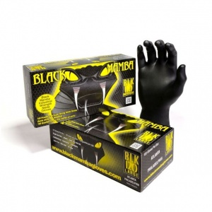 Black Mamba Disposable Nitrile Gloves BX-BMG (Case of 5000 Gloves)