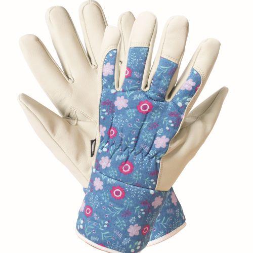 Briers ladies fresh floral premium gardening gloves 5080 for Gardening gloves ladies