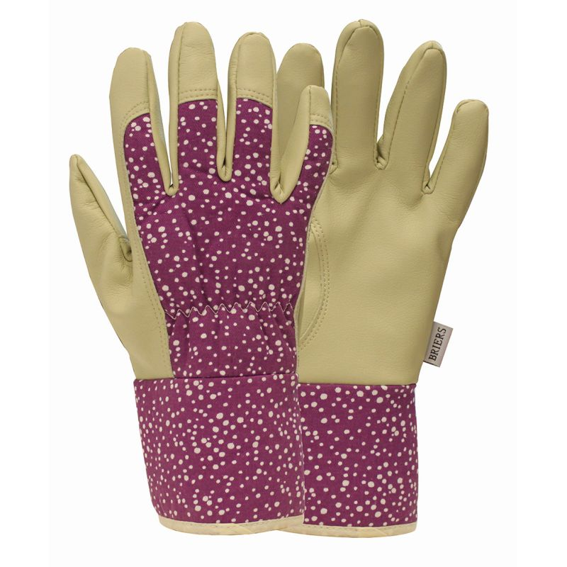 Briers ladies abstract dot premium gardening gloves 5271 for Gardening gloves ladies