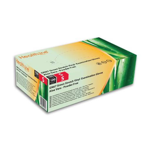 Healthline Gn67 Aloe Vera Powder Free Synthetic