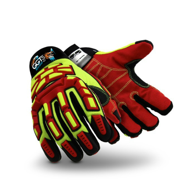 Hexarmor Ggt5 Arctic Gator 4031 Machinery Gloves