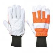Portwest Leather Chainsaw Protection Gloves A290