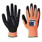 Portwest Amber Cut-Resistant Nitrile Foam Coated Gloves A643