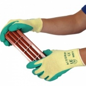 AceGrip Green General Purpose Latex Coated Gloves