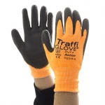 TraffiGlove TG315 Action Polyurethane Cut Level 3 Handling Gloves