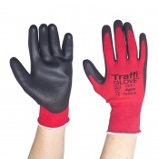 TraffiGlove TG122 Agile Polyurethane Cut Level 1 Handling Gloves