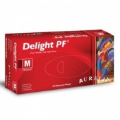 Aurelia Delight PF Medical Grade Vinyl Gloves 3822 (Case of 1000 Gloves)