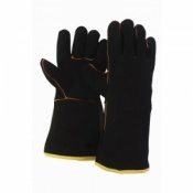 Briers Leather Gauntlet Gardening Gloves 0212