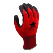 MCR Safety GP1005NP General Purpose Nitrile PU Palm Coated Safety Gloves