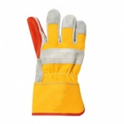 Lightning Power Plus Double Palm Leather Rigger Gloves RS2DPB