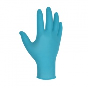 MCR Safety DS1020NX Blue Nitrile Powder-Free Disposable Gloves
