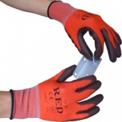 PCN Red Handling Gloves (Half-Case of 120 Pairs)