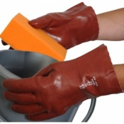 Red PVC Redek 11'' Gauntlet R127