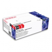 Shield GD41 Blue Lightly-Powdered Latex Disposable Gloves