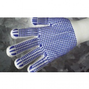 Shield GI/KDOT PVC-Dotted Knitted Gloves