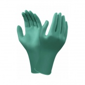 Ansell TouchNTuff 92-605 Disposable Powder-Free Nitrile Gloves