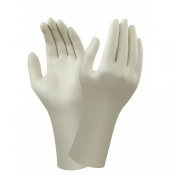 Ansell AccuTech 91-250 Powder-Free Latex Gauntlet Gloves