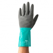 Ansell AlphaTec 58-430 Chemical-Resistant Gauntlet Gloves