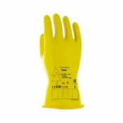Ansell E014B Electrician Class 0 Black Insulating Rubber Gloves