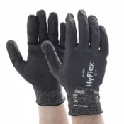 Ansell HyFlex 11-539 Cut-Resistant Fully Dipped Grip Work Gloves