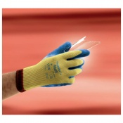 Ansell Powerflex 80-600 Cut-Resistant Hi-Viz Kevlar Gloves