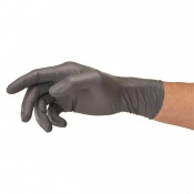 Ansell TouchNTuff 93-250 Disposable Long-Cuffed Nitrile Gloves