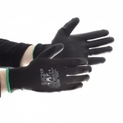 Black Mamba PU Dipped Material Handling Gloves PR-PC