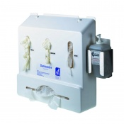 Bottle Holder for Danicentre Wall-Mounted Glove and Apron Dispensers