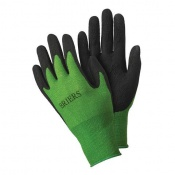 Briers Green and Black Bamboo Gardening Gloves