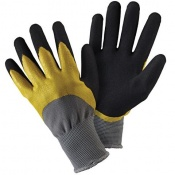 Briers Double Dip Yellow and Black Gardening Gloves B6427