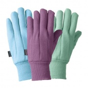 Briers Jersey Gardening Gloves (Pack of 3 Pairs) B8680