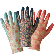 Briers Julie Dodsworth Orangery Seed and Weed Gardening Gloves (Pack of 3 Pairs) B6895