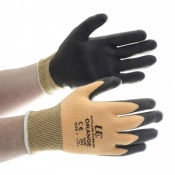 Kutlass Cut Resistant Orange Gloves PU300-OR