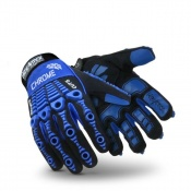 HexArmor Chrome Series 4024  Mechanics Cut Resistant Gloves