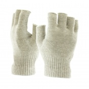 Insulating Fingerless Silver Liner Gloves