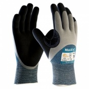 MaxiCut Oil Resistant Level 4 3/4 Coated Grip Gloves 34-405
