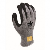 MCR Safety CT1007LF Latex Foam Cut Pro Palm Coated Safety Gloves