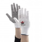 MCR Safety GP1004PV PVC Dotted Cotton Light Handling Gloves