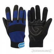 Silverline Neoprene Mechanics Gloves 763587