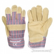 Silverline Pigskin Rigger Gloves 868554