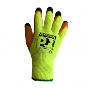 Predator 4 Grip WinterPaws High Visibility Orange Latex Coated Cut Level 2 Safety Gloves CWP