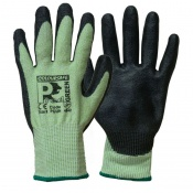 Predator Green Cut Level 5 Safety Gloves PUUH
