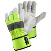 Ejendals Tegera 198 High Visibility Heavy Work Gloves