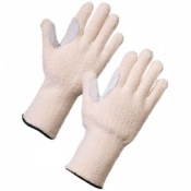 Supertouch Terry Cotton Chrome Patch Gloves 28063