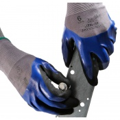 Tornado Oil-Teq 1 3/4 Coated Industrial Safety Gloves OIL1