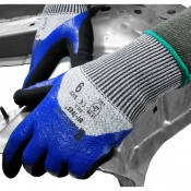 Tornado Oil-Teq 5 Industrial 3/4 Coated Safety Gloves OIL5