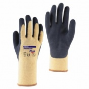 Towa PowerGrab Plus TOW342 Latex-Coated Gloves with Yellow Liner