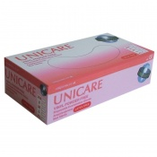 Unicare Powder-Free Clear Vinyl Gloves UCV120